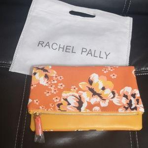 NWT Rachel Pally Orange Mustard Reversible Clutch